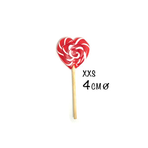 Love Heart Swirl Lollipop