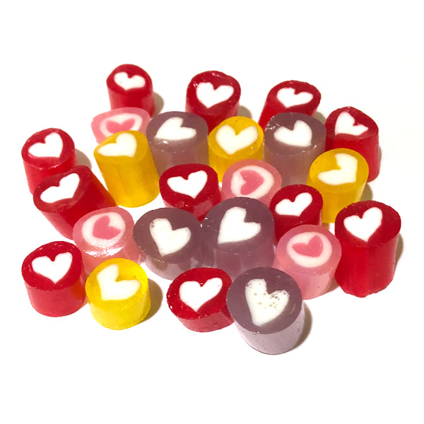 Love Heart Rock Candy