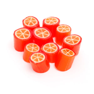 Orange Rock Candy | PAPABUBBLE 西班牙手工糖