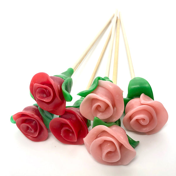 Rose Lollipop | PAPABUBBLE 西班牙手工糖 Best Gift for Mother's Day
