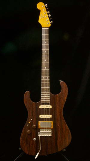 SOLD 2019 Asher SSH *Lefty* with Cocobolo Top and Seymour Duncan Pickups! $3,550