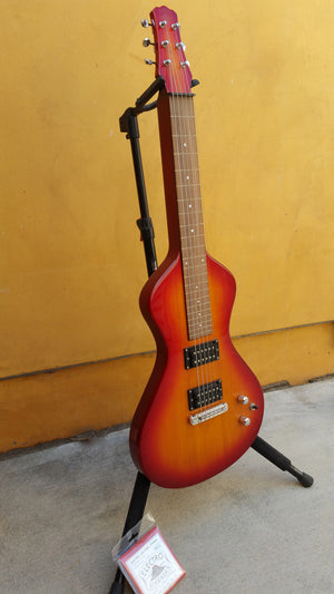 SOLD Previously Owned Asher Electro Hawaiian® Junior Lap Steel Guitar, Cherry Burst #301