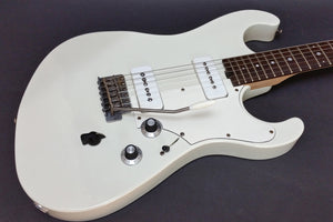 SOLD  Asher Marc Ford Signature Guitar, Olympic White Nitro Closet Relic , #964