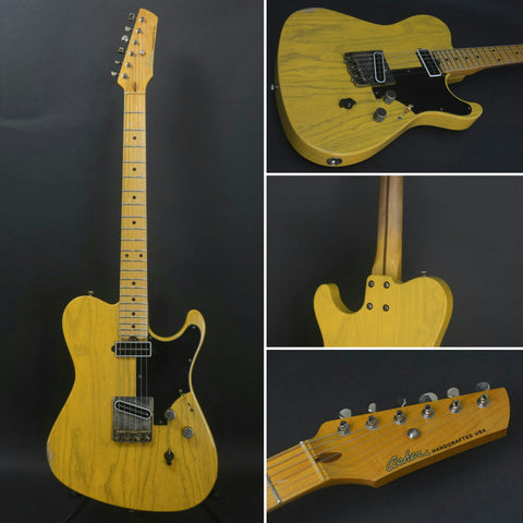 2018 Asher T-Deluxe Vintage Series * Swamp Ash * Nitro Butterscotch lacquer *