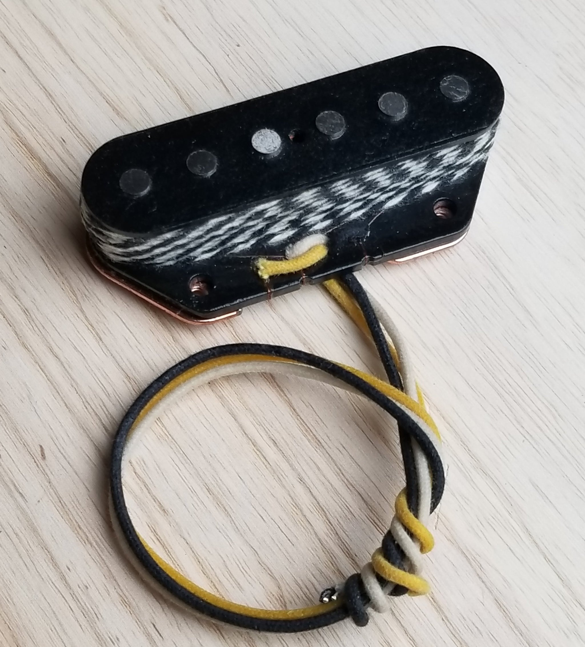 Asher Vintage Style Compensated Tele Bridge, Cold Rolled