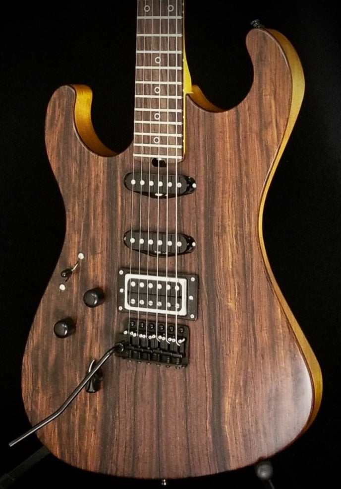 2019 Asher SSH *Lefty* with Cocobolo Top and Asher Shop Wound Pickups, #1129