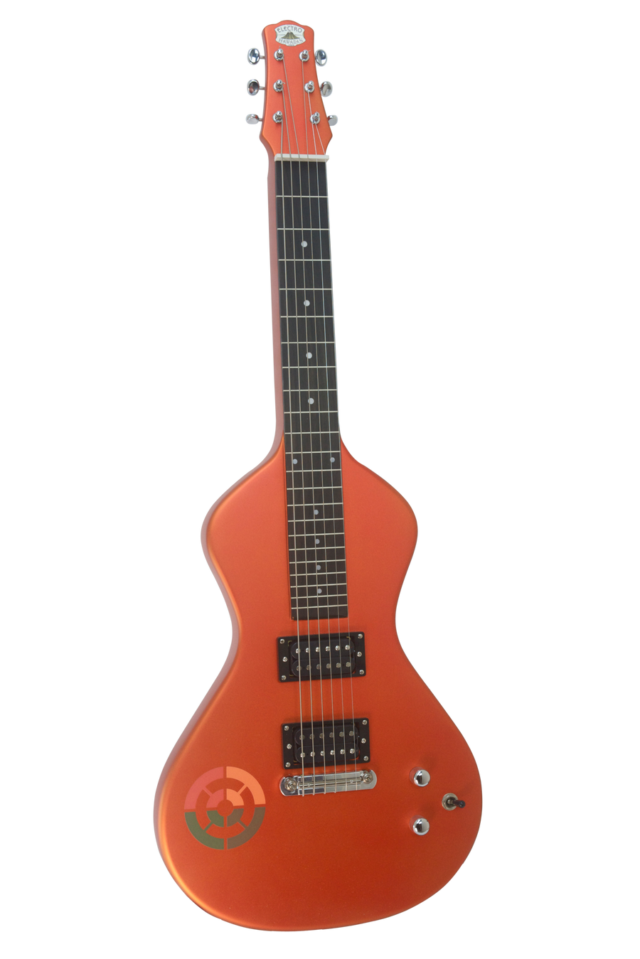 SOLD Asher Ben Harper and the Innocent Criminals Special Edition Lap Steel, Liquid Orange