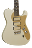 SOLD Asher GT3 Guitar in Olympic White,