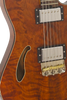 SOLD Asher Guitars 2015 Hollow T Deluxe Custom #842 with California Redwood top and custom wound pickups