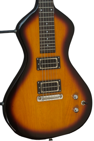 SOLD Asher Electro Hawaiian Junior J-797 with Fat 90 Blade Pickups by Pete Biltoft and Belly Bar Upgrade
