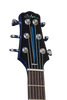"SOLD Asher Resosonic ""Rambler"" in Lake Placid Blue with Hand Pin Striping, #861"