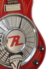 "SOLD Asher Resosonic ""Rambler"" in Dakota Red with Hand Pin Striping, #847"