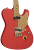 SOLD Asher T Deluxe Coral Nitro Guitar with Slim C Neck Shape