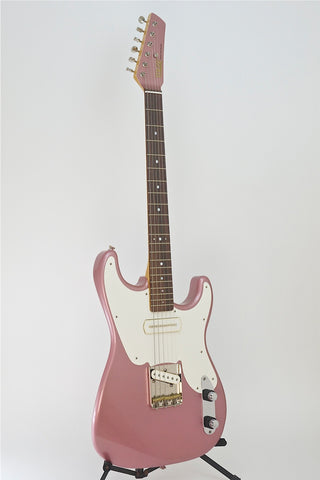 "SOLD Asher ""Mozo"" Burgundy Mist Nitro Guitar, #775/10"