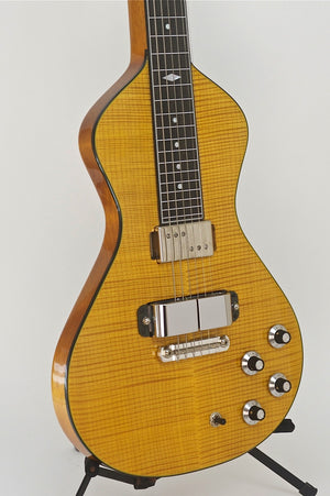 SOLD Asher Electro Hawaiian® Custom Shop Lap Steel with Lollar Horseshoe and Regal Pickups