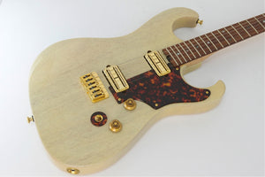 SOLD Asher S Custom™ Guitar, Trans Ivory Poly #196 - Previously Owned, Near Mint