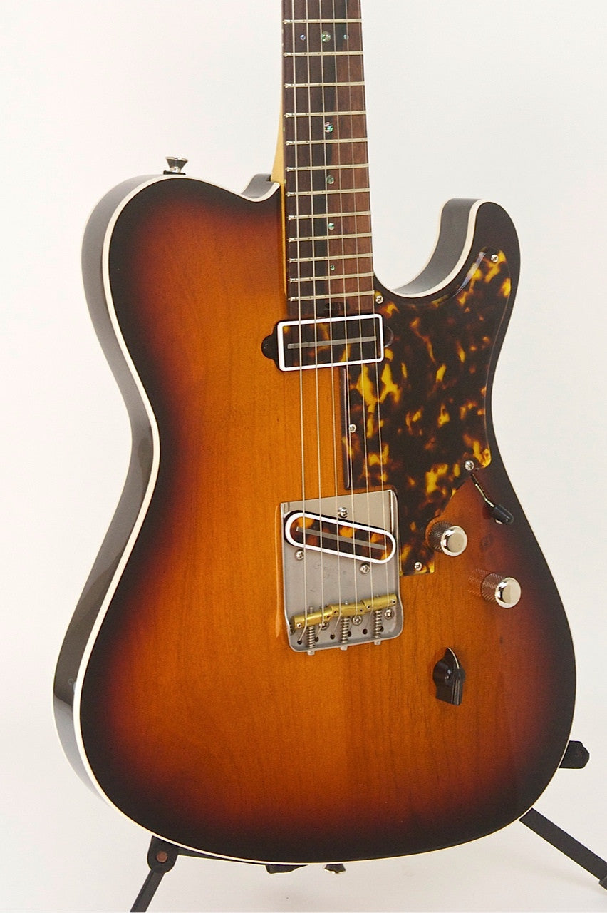 SOLD Asher T Deluxe™ Guitar 2010, Tobacco Burst Poly, Previously Owned #571