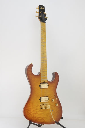 SOLD 2009 Asher S Custom™ Guitar, Faded Cherry Burst #478 - Previously Owned, Mint Condition - Like New!