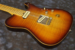 SOLD 2014 Asher T Deluxe™ Guitar, Relic 50s Burst Poly, #806