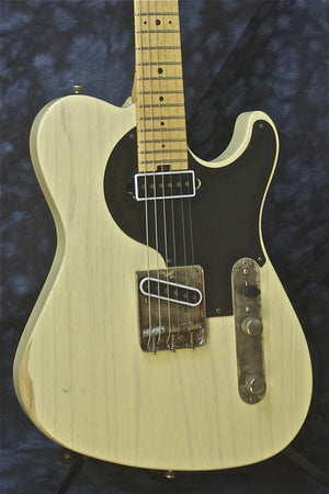 SOLD  Asher Redd Volkaert Signature Guitar, Vintage Blonde Nitro, #713, 7 of 12