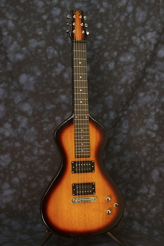 SOLD New Stock Asher Electro Hawaiian ® Junior Lap Steel  - FACTORY SECOND, Tobacco Burst