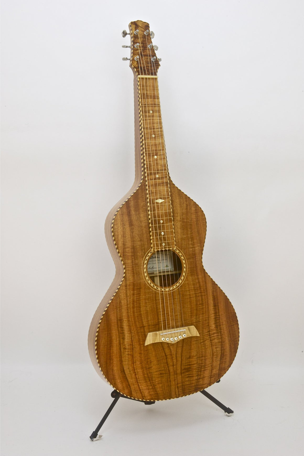 SOLD  USED MINT CONDITION 2008 Asher Acoustic Hawaiian Style IV