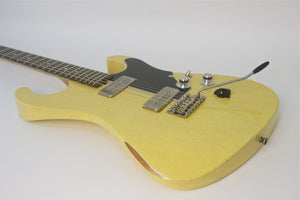 SOLD   2015 Asher Marc Ford Signature Guitar, TV Yellow Nitro Relic , #837