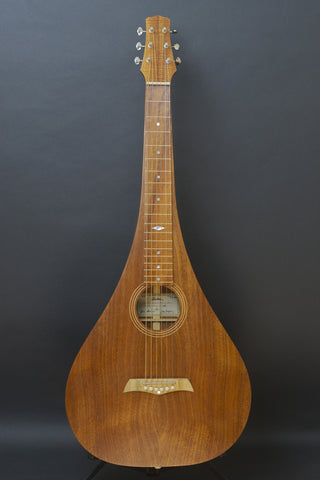 SOLD Used Asher Acoustic Hawaiian Teardrop Lap Steel with Custom Hard Case - Near Mint