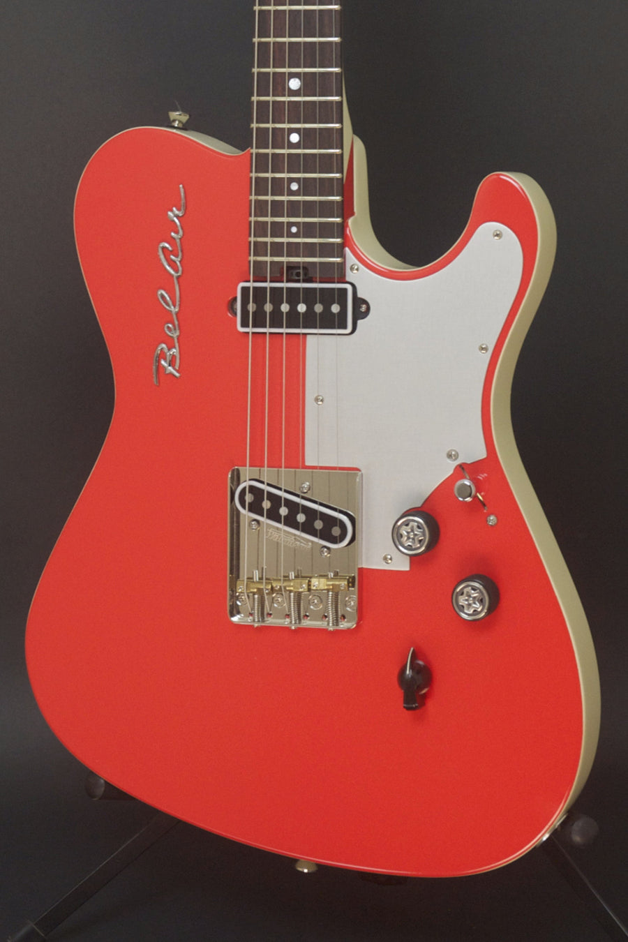 "Available at Chicago Music Exchange: Asher T Deluxe Limited Edition ""Bel Air"", Gypsy Red, #884"
