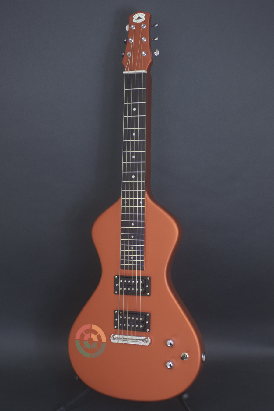 SOLD Asher Ben Harper and the Innocent Criminals Special Edition Lap Steel, Burnt Liquid Orange