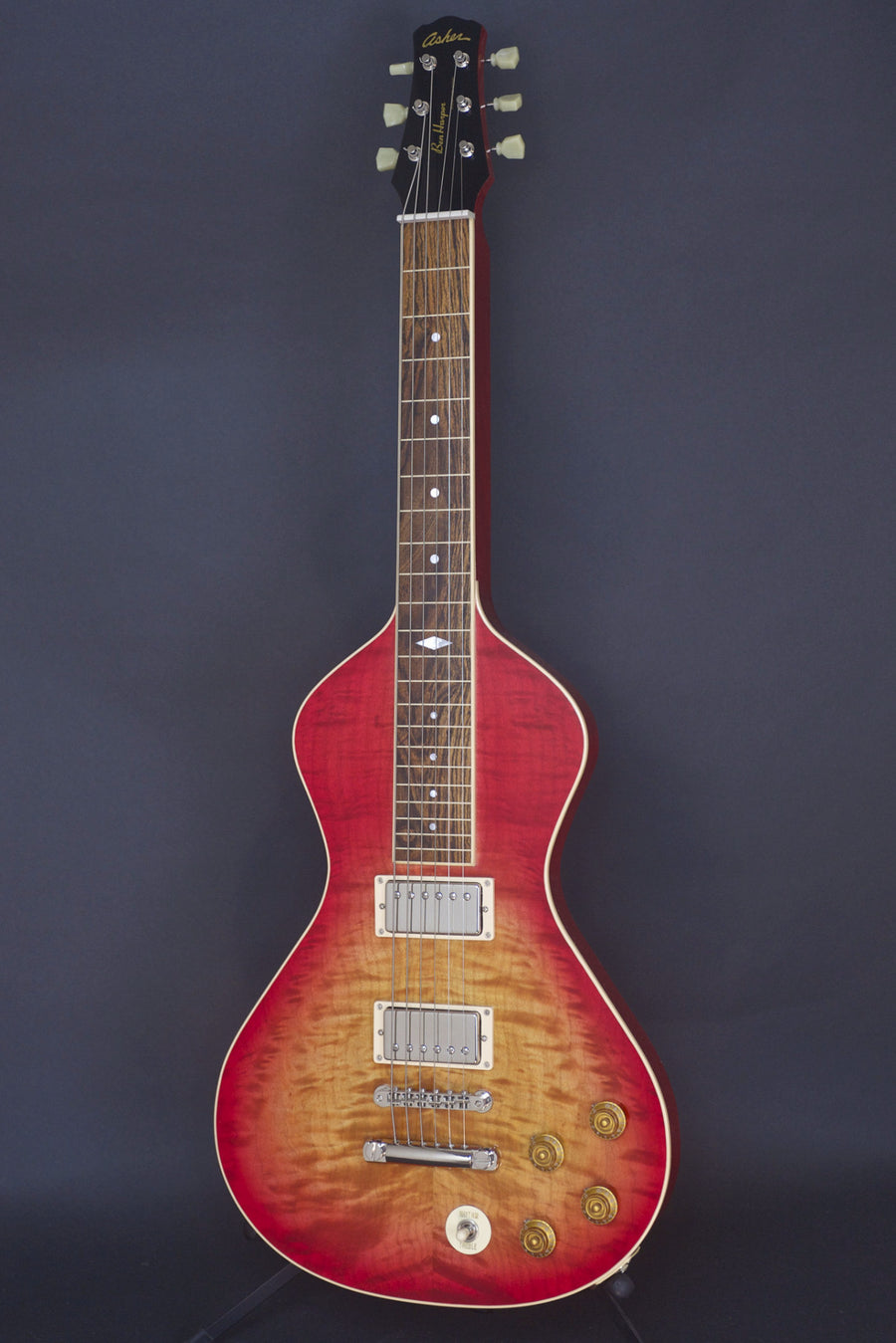 SOLD Asher 2016 #945 Ben Harper Signature Model Cherry Burst