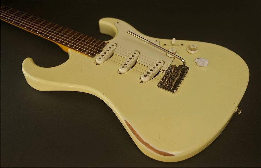 SOLD Asher S Classic™ Guitar - Relic Antique Ivory