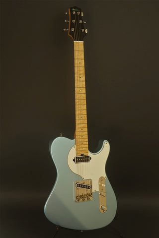 SOLD Asher 2013 T Classic™ Guitar, Metallic Blue Poly