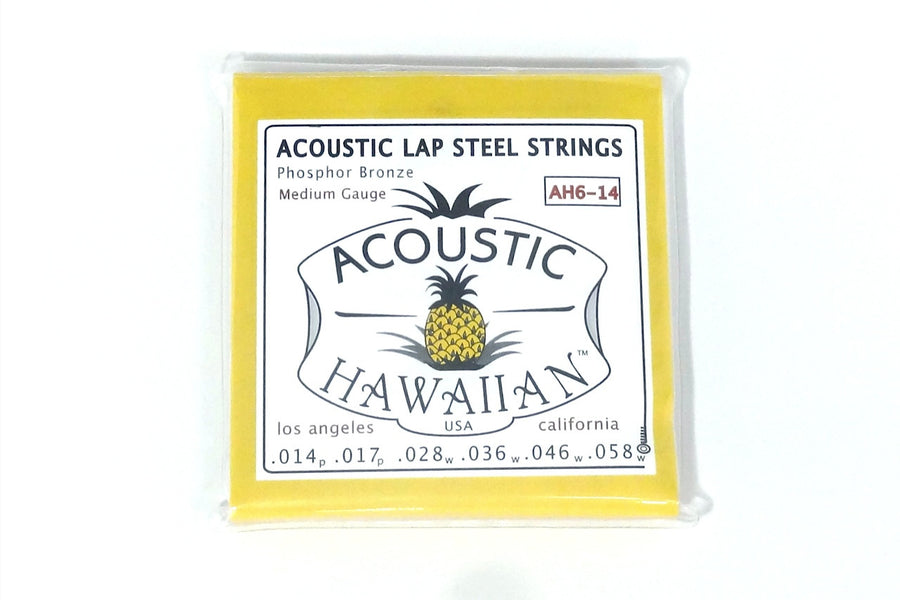 Acoustic Hawaiian™ Lap Steel Strings, Box of 10!