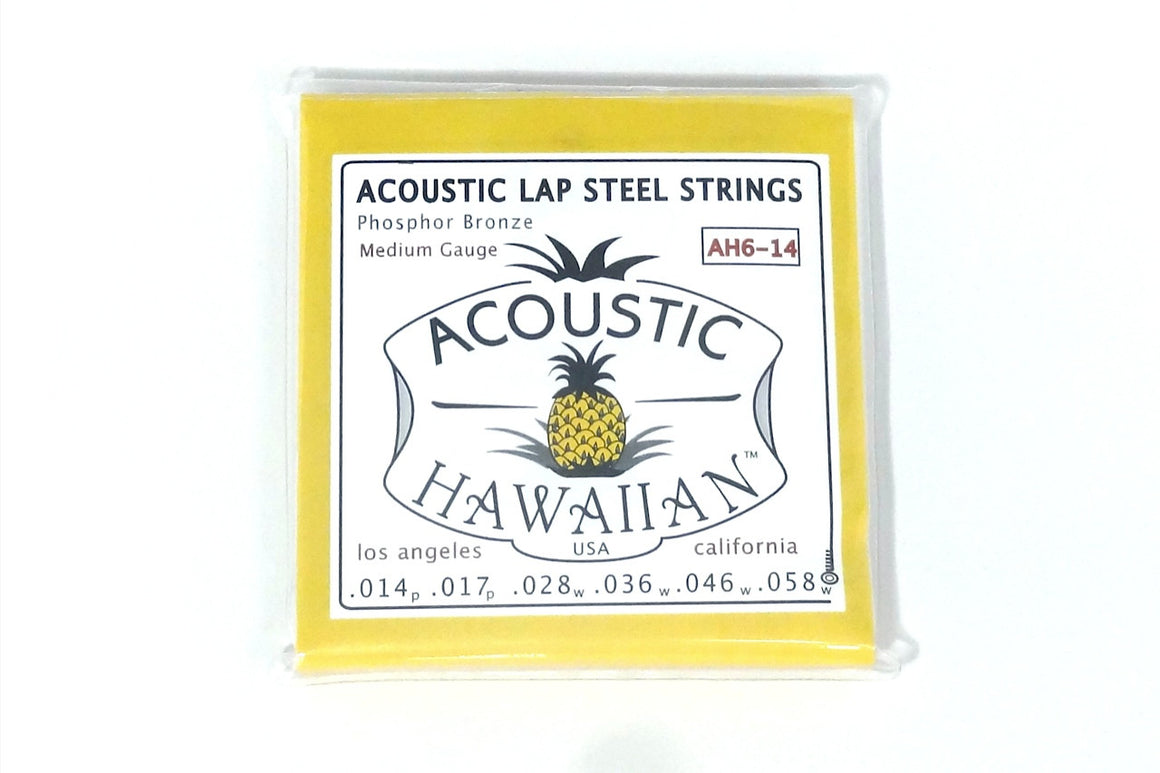 Acoustic Hawaiian™ Lap Steel Strings - Single Set