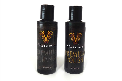 Virtuoso Premium Polish and Cleaner Set w/ Asher Cloth