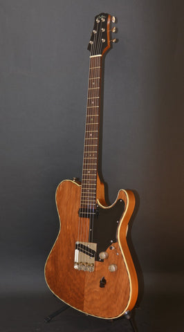 SOLD Asher 2018 T Deluxe Master Series with Prehistoric Kauri Wood Body and Neck, #1044