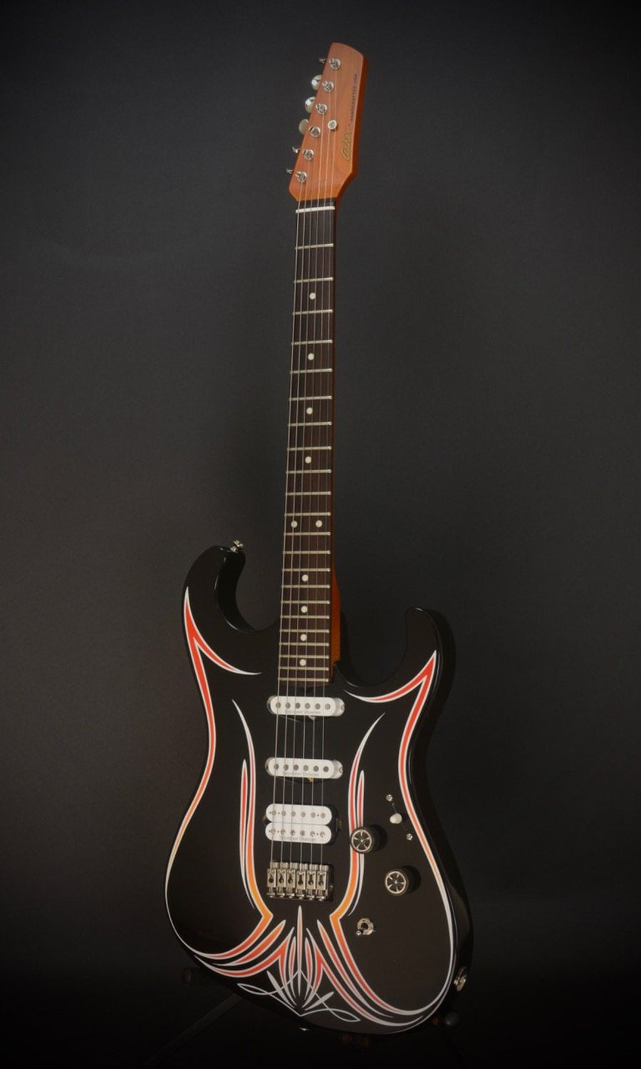 *SALE* 2018 Asher SSH Hot Rod Custom Guitar with Duncans and Pinstriping!