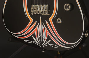 2018 Asher SSH Hot Rod Custom Guitar with Duncan Pickups and Pinstriping