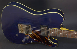 "SOLD 2018 NEW ""Studio Series"" HT Deluxe with Asher Pickups and Fire Stripe Guard, #1073"