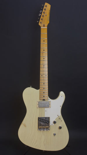 SOLD 2018 Asher HT Deluxe Studio Series California Blonde Satin Nitro Light Relic, #1079