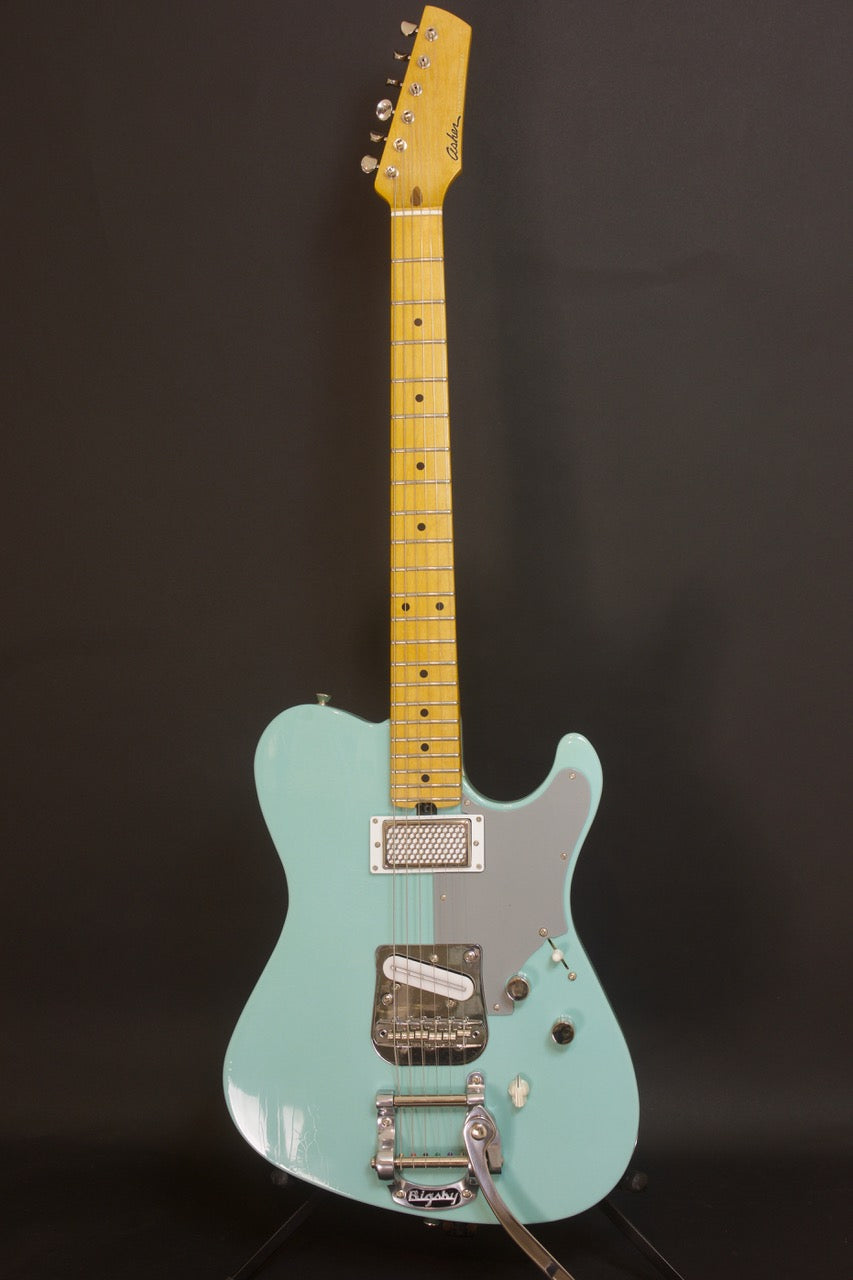 SOLD 2019 HT Deluxe, Daphne Blue Nitro Light Relic with Bigsby, sn#1118