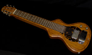 2019 Electro Hawaiian Short Scale 6-String Lap Steel in Tempered Swamp Ash, #1166