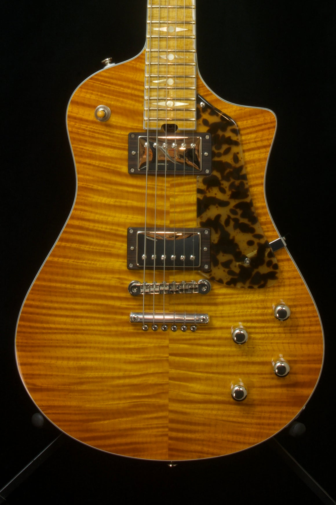 SOLD 2020 Asher Electro Sonic I Flame Maple Top 35th Anniversary Model #12 /35 Limited Edition $6200.00