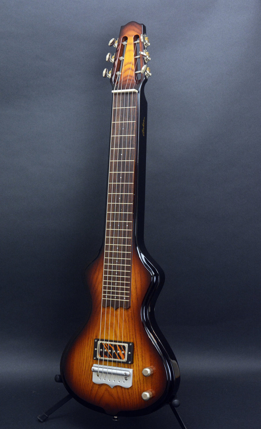 SOLD Asher Electro Hawaiian Short Scale -  23 inch - with Custom Lollar pickup #993