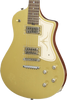 SOLD Asher Electro Sonic Neck Thru Gold Top, Light Relic, #911