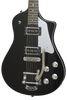 Asher 2016 Electro Sonic Neck Thru - Black Beauty with Bigsby #909