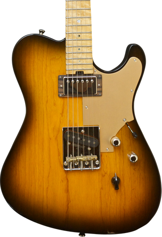 SOLD  HT Deluxe with Sweet T Pickup and Arcane Alnico-2 PAF humbucker, Nitro Tobacco burst #879