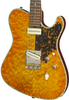 SOLD Asher 2016 T Deluxe Master Series Curly Maple with Abalone Trim, #918