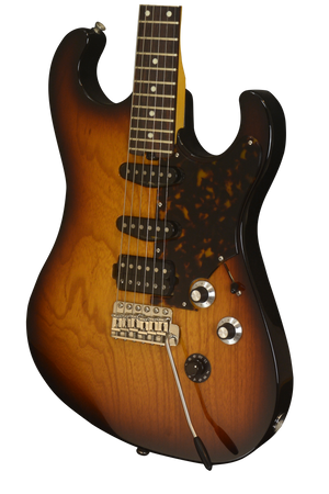 SOLD 2017 Asher SSH Custom Tobacco Burst with Lollar Pickups, #1015